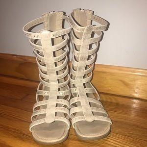 Girls Gladiator Sandals size 2